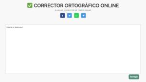 corrector ortografico